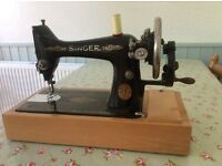 Singer hand sewing machine