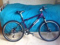 "Mountain Bike 18"" frame Gary Gisher Big Sur disc brakes"