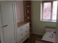 Mamas and papas 3 piece nursery furniture white & oak colour