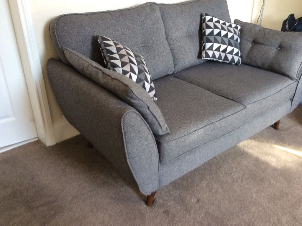 dfs french connection zinc 2 seater sofa 2 armchairs in. Black Bedroom Furniture Sets. Home Design Ideas