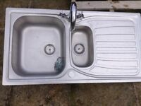 Kitchen sink and mixer taps for sale