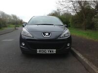 Peugeot 207 Verve 1.4 HDI diesel full service history mot 1 year cdradio