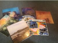 Job lot of vintage moody blues records/vinyl albums