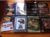 58 war dvd's all real