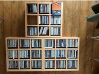 "375 CDs, all quality, plus storage boxes. Indie, Rock, Jazz, Classical, No ""Now."""
