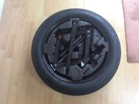 Vauxhall Mokka space saver wheel kit