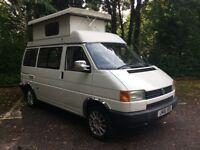 Volkswagen Transporter Holdsworth poptop camper van