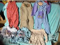 Bundle of girls clothes 28 items little used some almost new