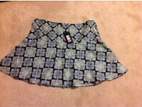 Marks and Spencer ladies summer skirt size 22
