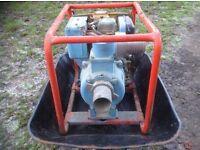 "Clarke CRD3 - 3"" diesel driven water pump"