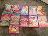 Barbie DVD Bundle for Sale X 11