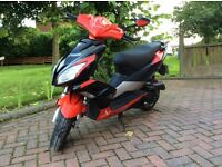 Pulse Lightspeed 2 50 cc scooter moped for sale. Top end rebuild, runs like new.