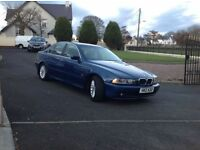 2002 BMW 5 Series 3.0 530i SE 4dr ++++ MOT'd 1 year ++++. £2,175 + last off this great model +