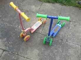 2 my first scooters boy & girls. (Ozbuzz)