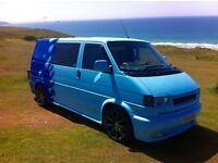 Stunning magazine featured project zwo VW Transporter T4 9 seater
