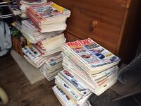 JOB LOT OF OVER 60 WHAT CAR MAGAZINES.
