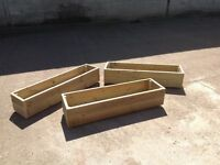 Garden planters made to your measurements and your design just call me