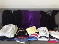 Womens Clothes Bundle, mix of Bon Marche, Marks and Spencers and other brands, Size 20.