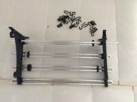 Wall mounted kitchen shelf rack