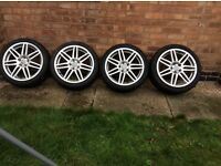 Audi A3 18inch alloys genuine S line off 2011 a3