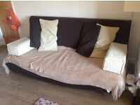 IKEA double fold out sofa bed