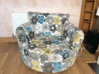 Lovely snuggle swivel chair from sofa works