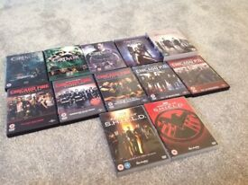 Multiple Boxsets - Chicago / Agents of Shield / Grimm / Originals / Vampire Diaries