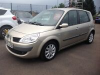 Renault megane scenic 1.6 dynamique 1.6 57 plate only 71000 miles FSH MOT ONE YEAR GREAT FAMILY CAR