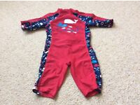 Boys Swimsuit all in one 18-24 months