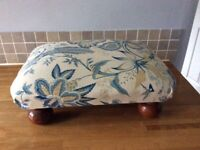 Traditional footstool