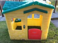 Little Tykes magic doorbell playhouse