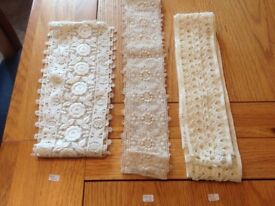 Selection of antique lace