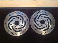 Harley Davidson 2001 front and rear brake rotors