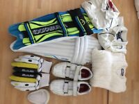 Cricket gear all in Great condition - pads,gloves,box,jumper,2 tops,shoes