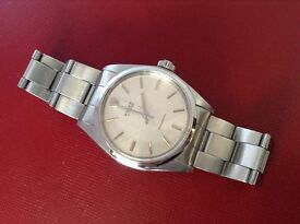 GENUINE ROLEX 6426 GENTS OYSTER PRECISION STAINLESS STEEL OYSTER BRACELET & CLASP CIRCA 1970s