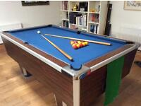pool table 7 x 4 ft