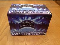 BEST OF THE WEST END SHOWS 20 CD BOXSET CDS STILL SEALED