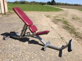 Hammer Strength Adjustable Utility Bench (Delivery Available)