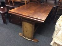 Vintage Art Deco extending dining table