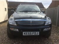 Ssangyong Rexton RX 270 Turbo diesel.