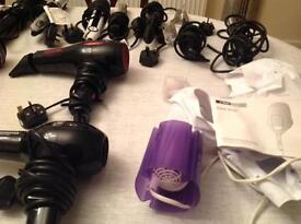 Hair styling/drying equipment