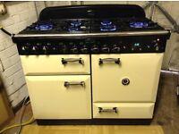 Rangemaster elan 110 Dual fuel cooker in excellent condition