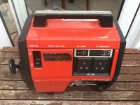 HONDA PETROL GENERATOR EX1000 USED VERY LITTLE