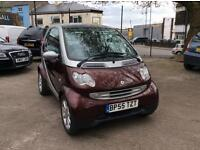 Smart City Passion 61 Auto 2006 33,000 miles 12 months MOT 6 months warranty