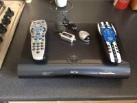 Sky+ HD Box, Magic Eye and 2 Controllers