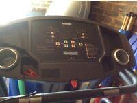 Smooth Fittness treadmill 7.25