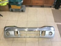 Ford Ranger Front Bumper Chrome With Irons