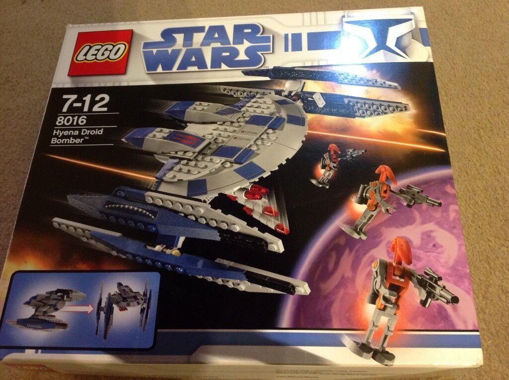 Lego Star Wars 8016 Hyena Droid Bomber In Craigleith Edinburgh