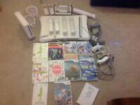 Nintendo Wii plus accessories