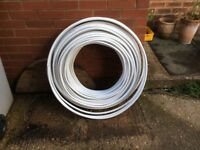 Plastic water piping (100m+)